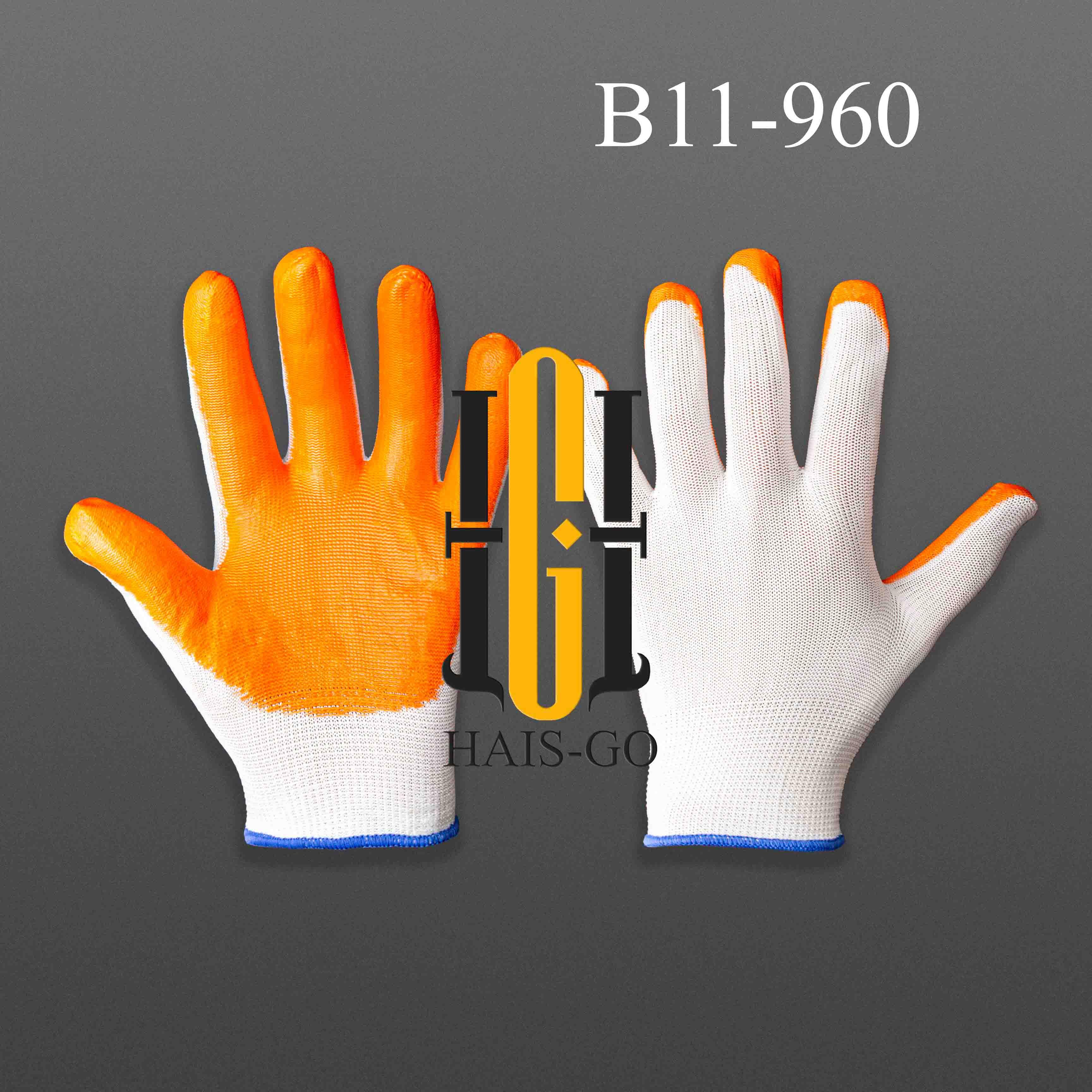 Хб рабочий перчатка (оранжевый)